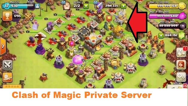 clash of clans private server download 2018 ios